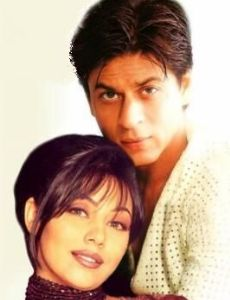 Gauri Khan and Shahrukh Khan