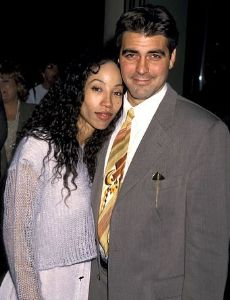 George Clooney und Kimberly Russell