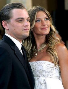 Gisele Bundchen and Leonardo DiCaprio