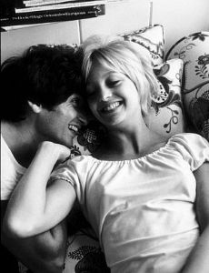 Goldie Hawn and Gus Trikonis