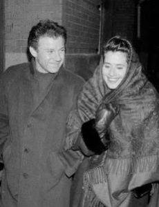Harvey Keitel and Lorraine Bracco