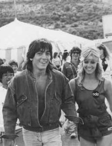 Heather Locklear and Scott Baio