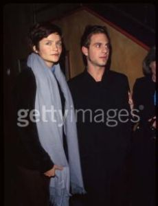 Helena Christensen and Peter Makebish