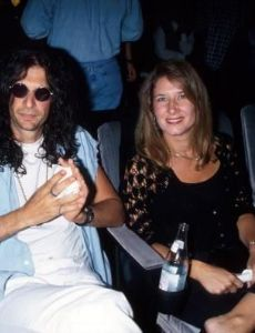 Howard Stern and Alison Berns
