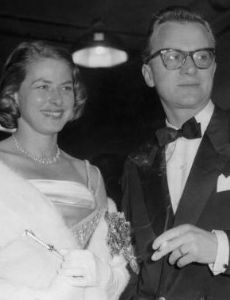 Ingrid Bergman and Lars Schmidt