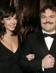 Jack Black and Tanya Haden