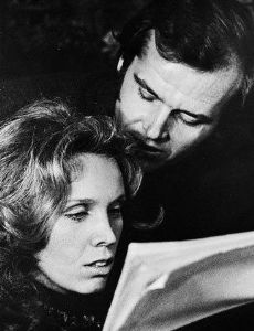 Jack Nicholson and Susan Anspach
