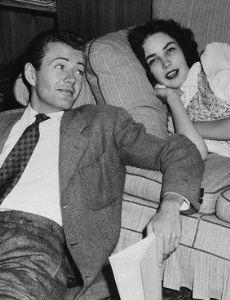Jennifer Jones and Robert Walker