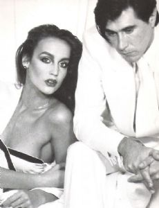 Jerry Hall and Bryan Ferry