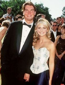 Jerry O'Connell and Sarah Michelle Gellar