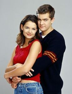 Joshua Jackson and Katie Holmes