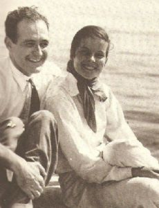 Katharine Hepburn and Ludlow Ogden Smith