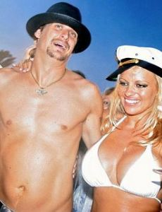 Kid Rock and Pamela Anderson