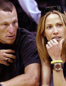 Lance Armstrong and Sheryl Crow