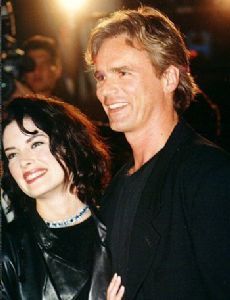 Lara Flynn Boyle and Richard Dean Anderson
