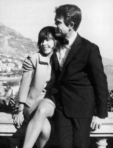Leslie Caron and Warren Beatty