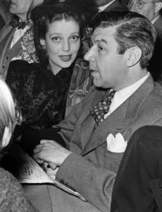 Loretta Young and Tom Lewis
