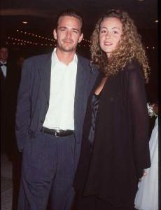 Luke Perry and Minnie Sharp