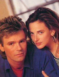 Marlee Matlin and Richard Dean Anderson