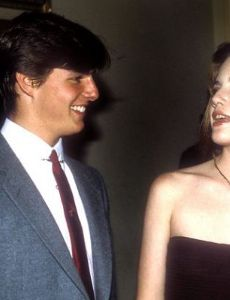 Melissa Gilbert and Tom Cruise