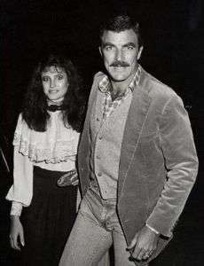 Mimi Rogers and Tom Selleck