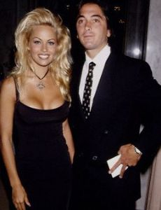 Pamela Anderson and Scott Baio