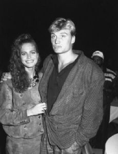 Paula Barbieri and Dolph Lundgren