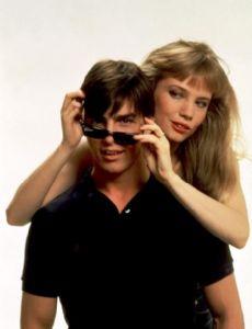 Rebecca De Mornay and Tom Cruise