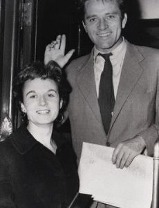 Richard Burton and Sybil Williams