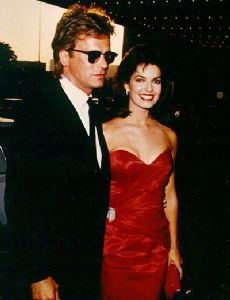 Richard Dean Anderson and Sela Ward