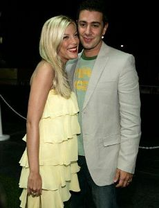 Tori Spelling and Charlie Shanian