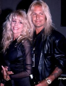 Vince Neil and Sharise Ruddell