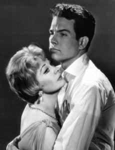 Vivien Leigh and Warren Beatty