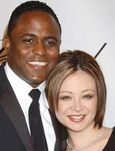 Wayne Brady and Mandie Taketa