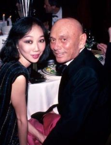 Yul Brynner and Kathy Lee