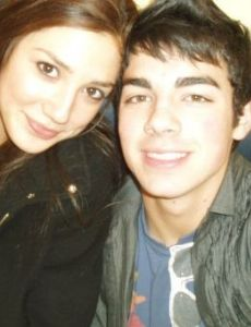 Joseph Jonas and Amelia Than-Aye