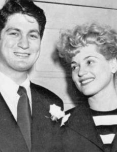 Judy Holliday and Dave Oppenheim