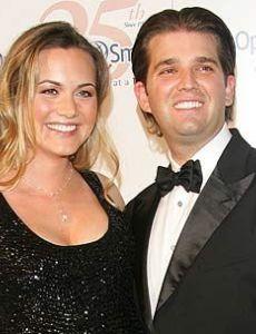 Vanessa Hayden and Donald Trump, Jr.