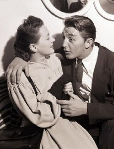 Robert Mitchum and Dorothy Mitchum