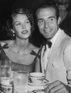 Ricardo Montalban and Georgiana Young
