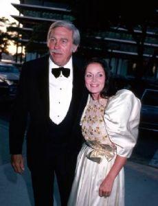 Judy Keel and Howard Keel