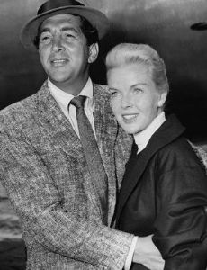 Dean Martin and Jeanne Martin