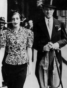 Vic Oliver and Sarah Churchill