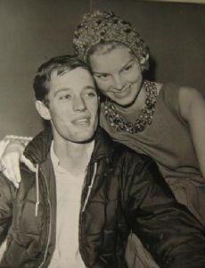 Peter Fonda and Susan Brewer