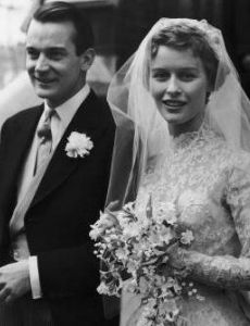 Denholm Elliott and Virginia McKenna