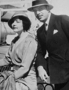 Warner Baxter and Winifred Bryson