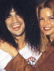 Renee Suran and Slash