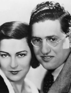 David O. Selznick and Irene Mayer Selznick