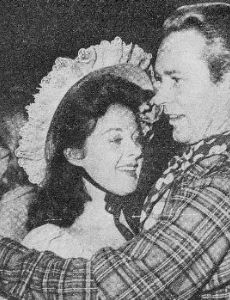 Susan Hayward and Jess Barker