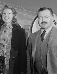 Ernest Hemingway and Martha Gellhorn